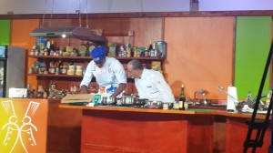 Yohance impressing the CHEF